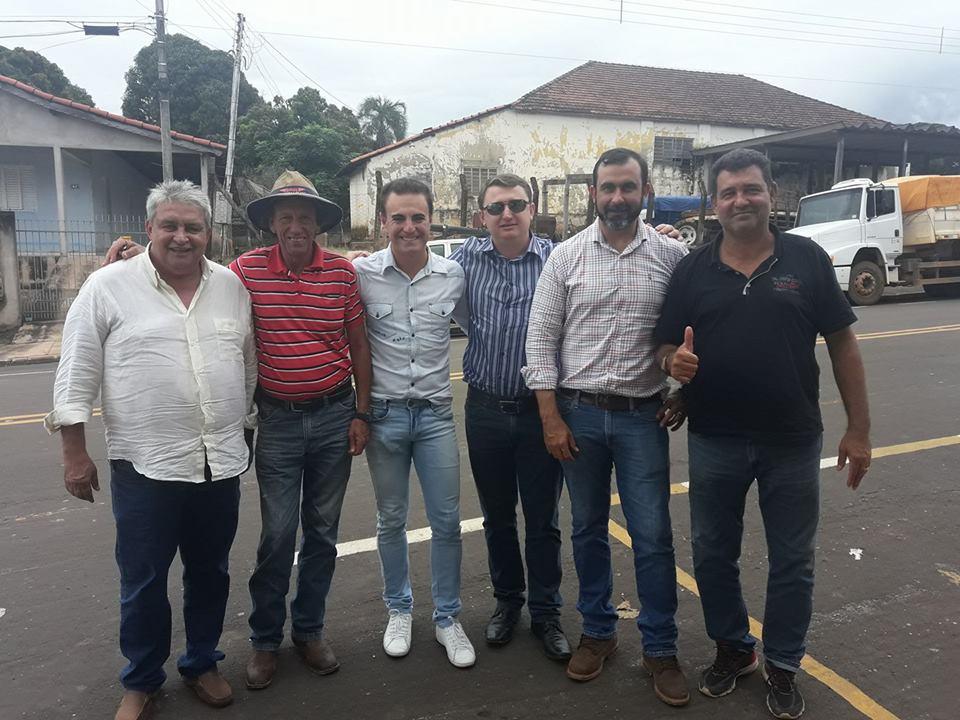 Diretores da TRIPOLI confirmam inicio do Asfaltamento de Guiratinga a Tesouro