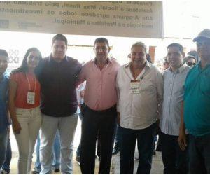 Bolinha e Luiz Mário participaram da inauguração do SEBRAE em Alto Araguaia.