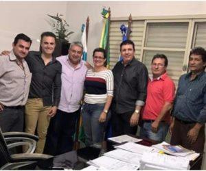 Prefeito de Pedra Preta Juvenal se reuniu com Prefeito Bolinha