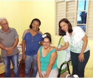 Ação Social em parceria com o Vereador Marcelo Oliveira Dourado realiza Sonho de Cadeirante.
