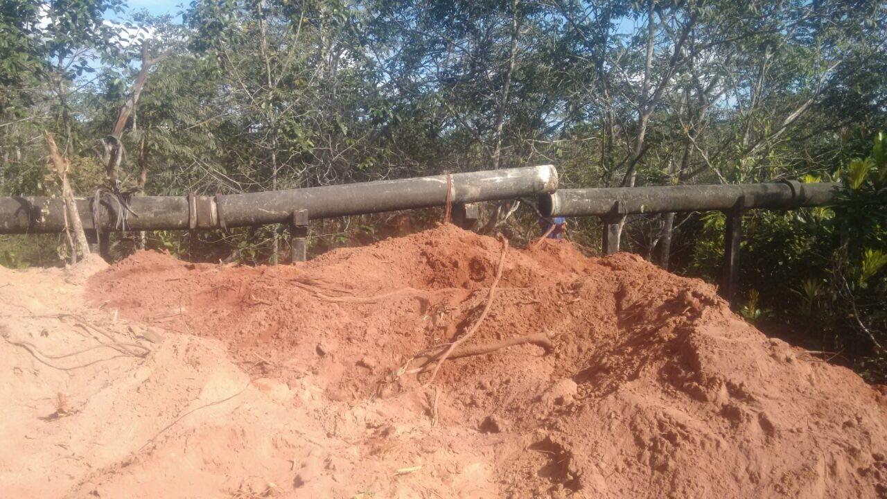 Rompimento de Cano Mestre da Rede de água foi solucionado pelo DMAEG