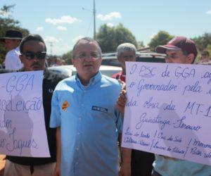 PSC agradeceu o Governador Pedro Taques
