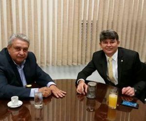 Prefeito Bolinha esteve em Brasília buscando recursos com Parlamentares