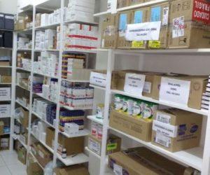 Farmácia Municipal recebeu estoque de Medicamentos