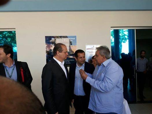 Prefeito Bolinha com o Ministro da Saúde em Rondonópolis