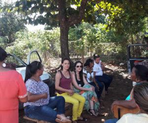 Ação Social e CRAS executaram metas de trabalho no Vale Rico.