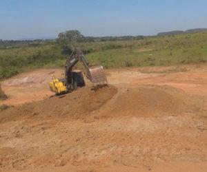 Secretaria de Obras realiza trabalhos em zonas rurais