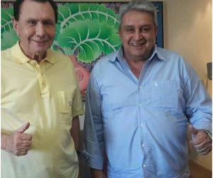 O prefeito Humberto Bolinha no último dia 30, manteve audiência com o Deputado Federal Carlos Bezerra (PMDB)