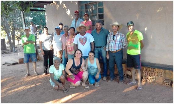 Sidinilson se reunião com produtores dos Assentamentos Tarumã e Mateirinha