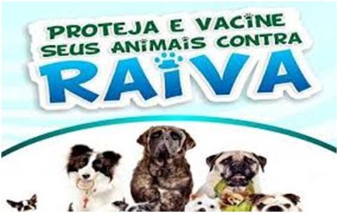 Campanha de Vacinação Anti Rábica 2017 para Cães e Gatos