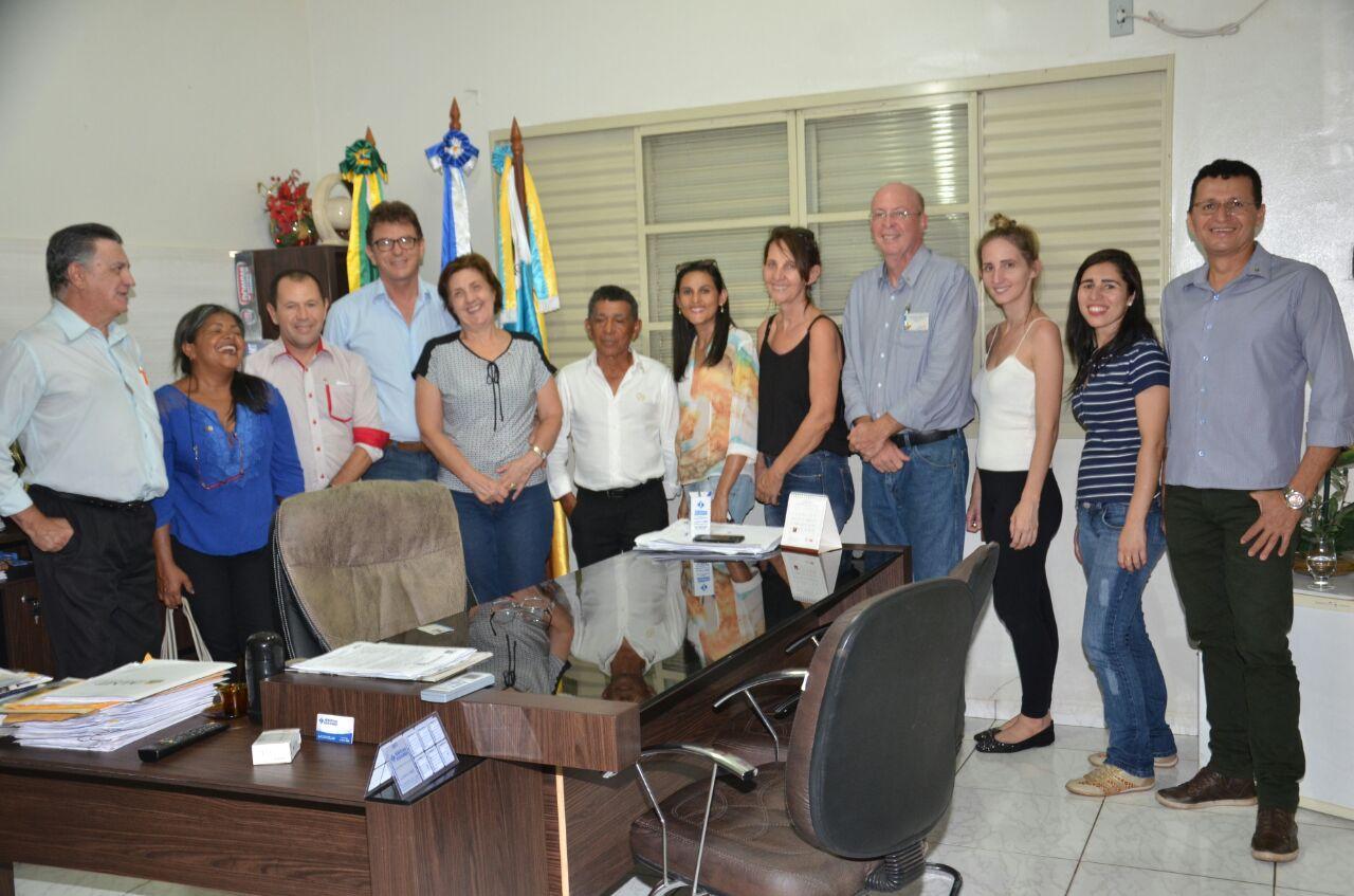 Visita do Governador do Rotary distrito 4.440