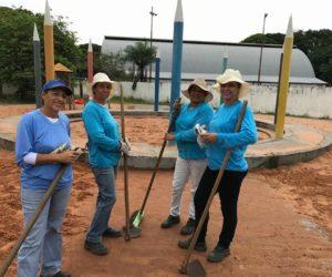 Secretaria de Obras dá sequência aos trabalhos de Limpeza e Recuperação