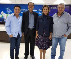 Bolinha e Moisés Vaz participam de Encontro de Prefeitos e Secretários em Cuiabá