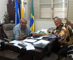 Prefeito Bolinha e Secretários receberam Kau Maracanã