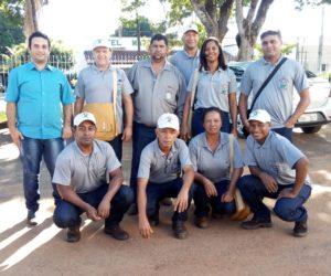 A Secretaria Municipal de Saúde de Guiratinga adquiriu novo uniforme aos Agentes Saúde de Ambiental