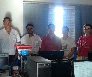 Técnicos e professores de escolas e Creche municipal realizaram treinamento do Sistema Ômega.