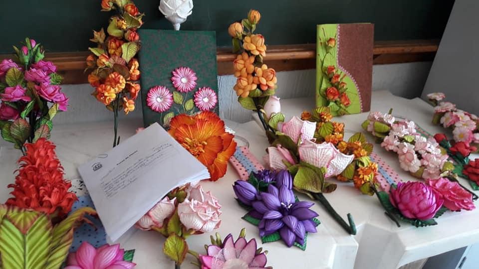 Curso de flores teve inicio no dia 22 de agosto