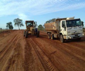 Secretaria de Obras dá sequência às recuperações planejada em estradas e distritos