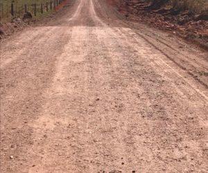 Secretaria de Obras realiza manutenção e Encascalhamento em estradas