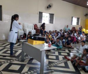 Equipe do PSF I realiza palestras sobre Saúde Bucal