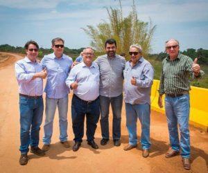 Ponte de Concreto do Córrego da Onça que liga Guiratinga a Alto Garças está concluída
