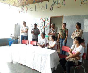 Técnicos da Saúde Orientam alunos da Escola Tenente Daniel sobre Dengue e Leishmaniose