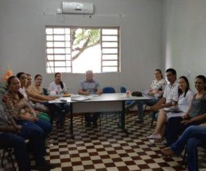 Saúde realiza reunião para regularizar o matriciamento do CAPS