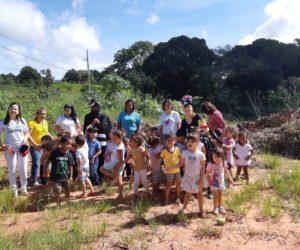 Ação educativa de combate a Leishmaniose e Dengue na Creche Isolina para alunos e pais