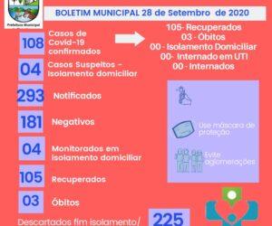Boletins Informativos COVID-19